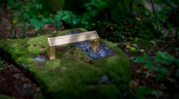 Meditation bench
