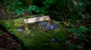 Meditation bänk